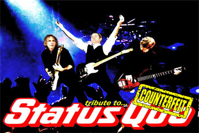 Counterfeit Quo Status Quo tribute band